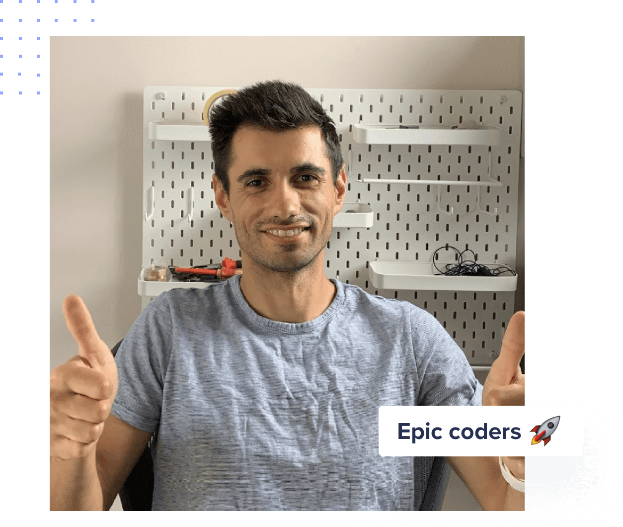 Spiridon from Epic Coders
