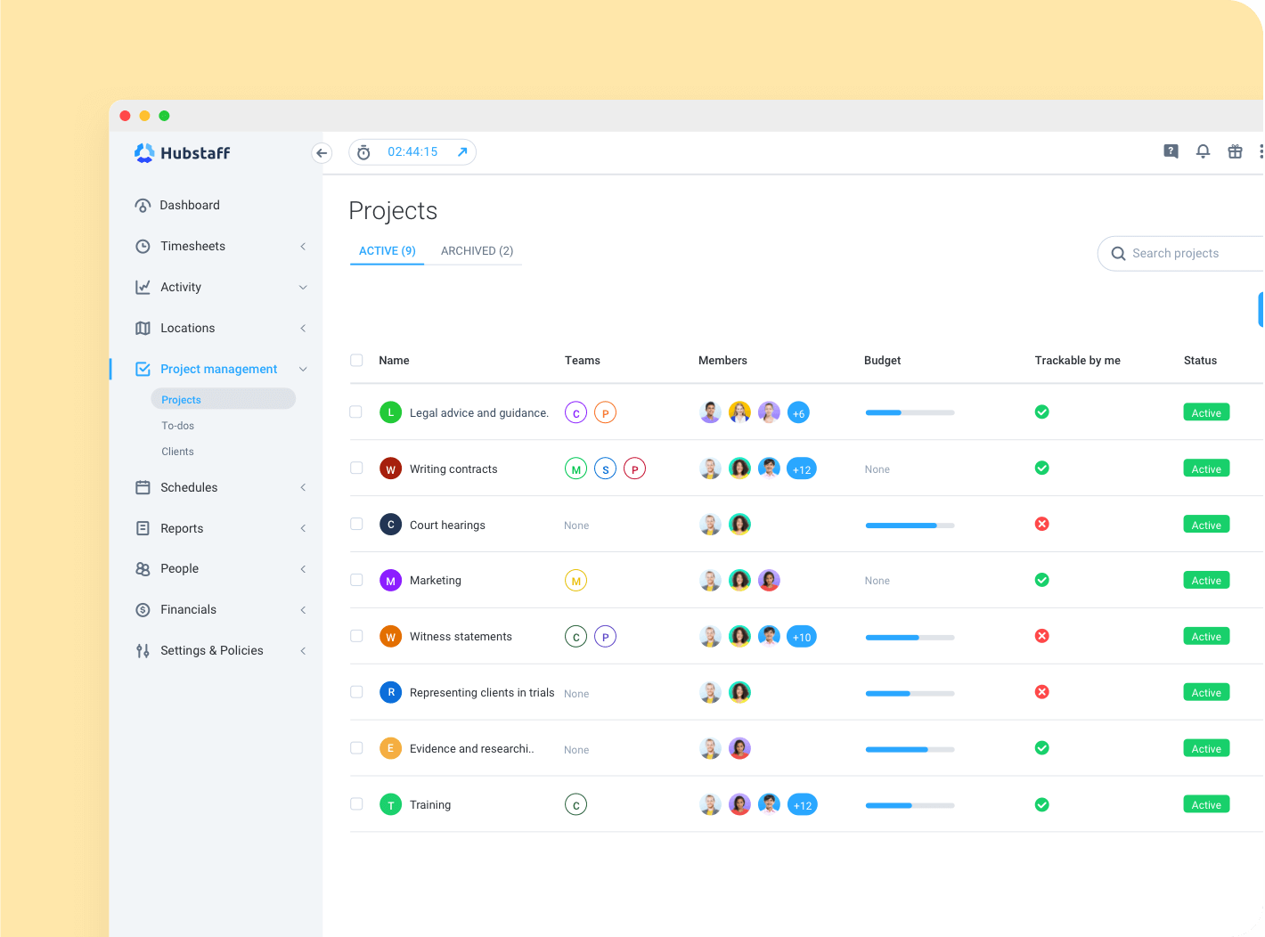 time cards sent directly to your inbox