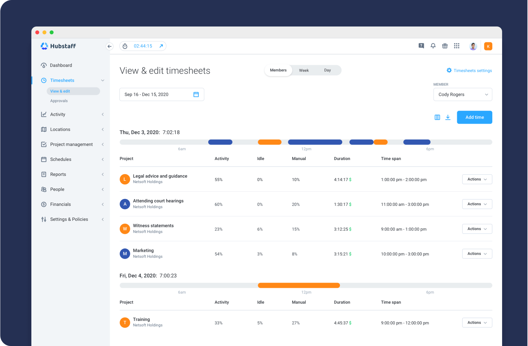 automatic timesheets for lawyers