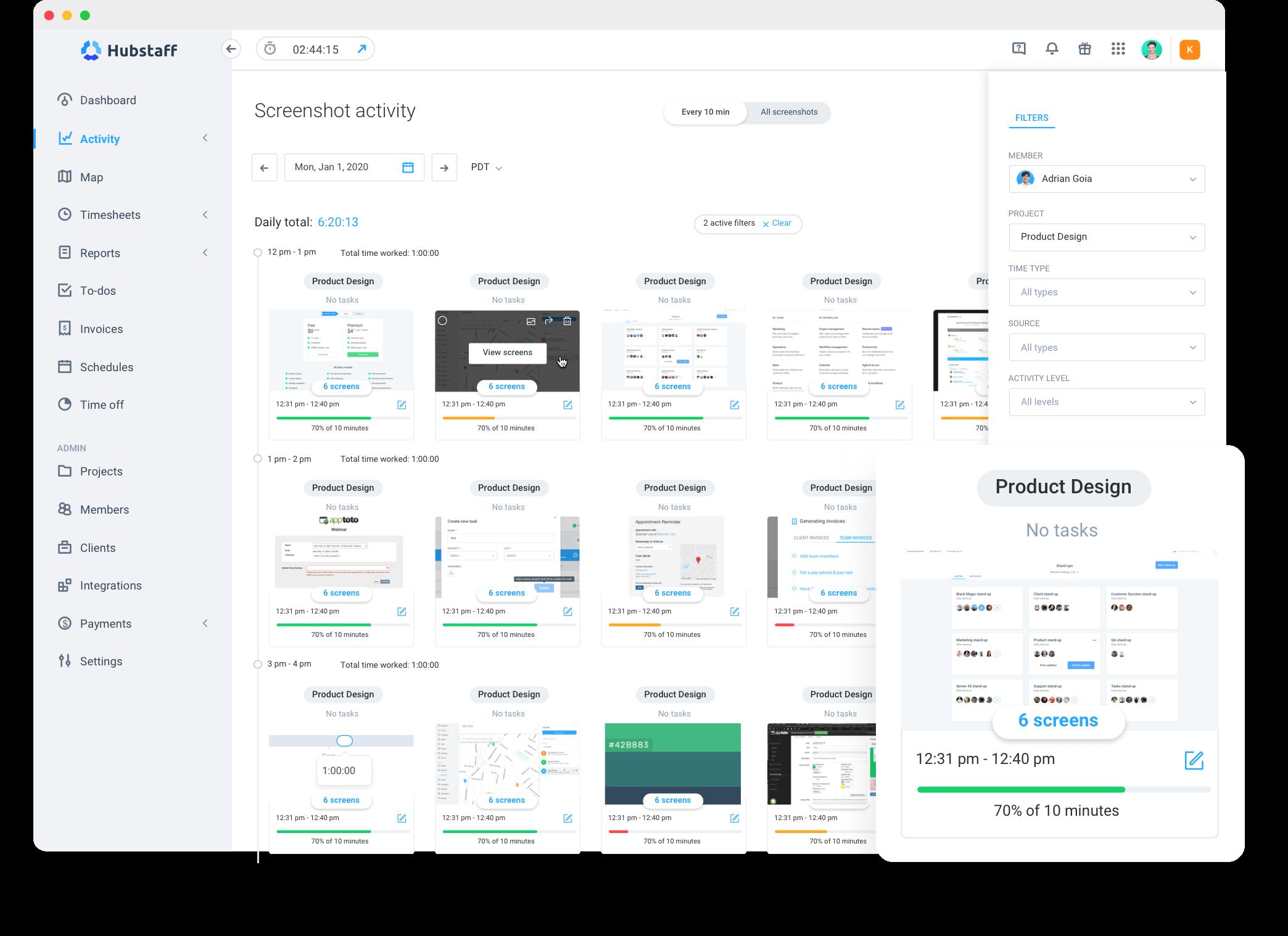 screenshot activity