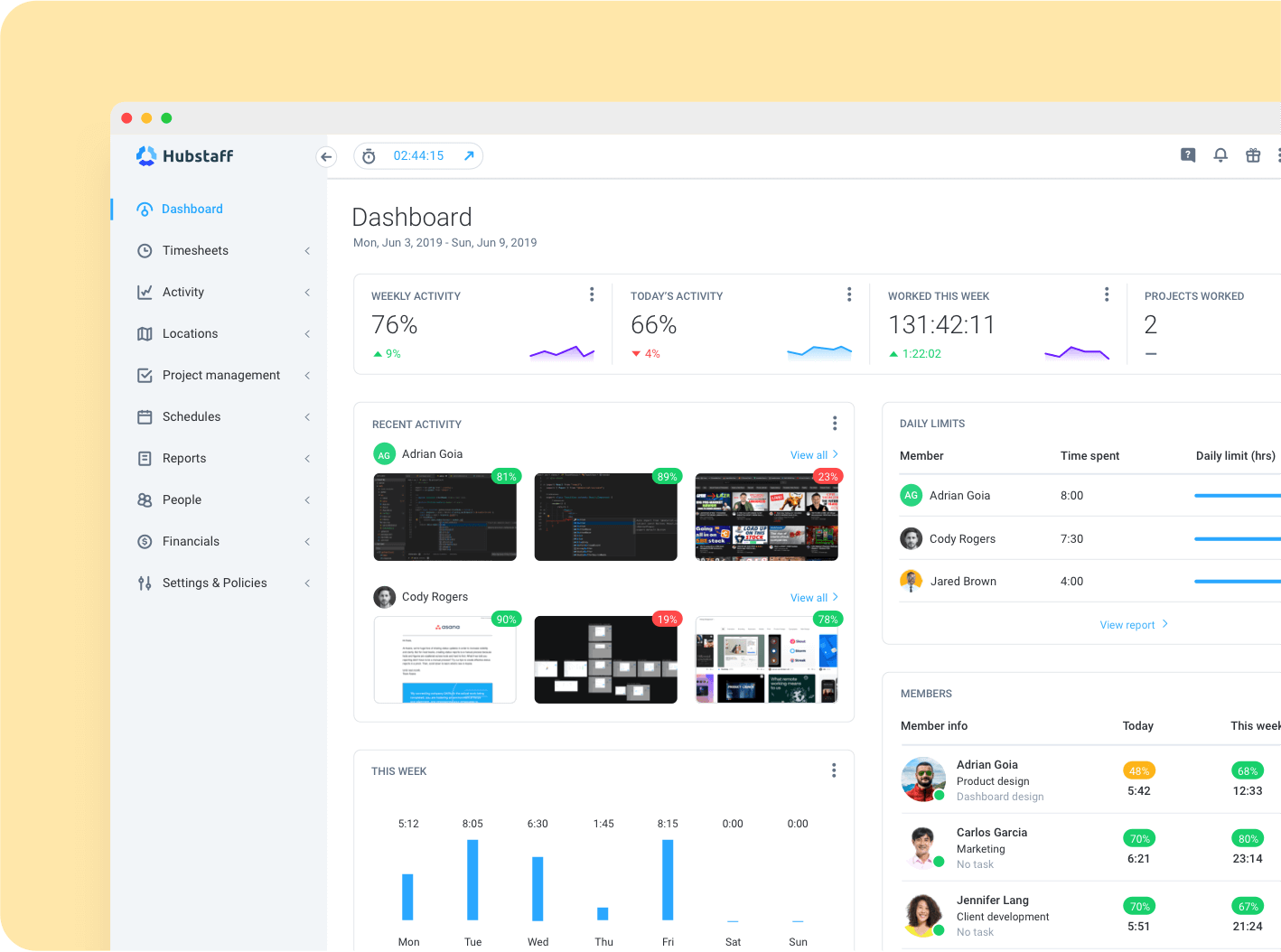 Use Hubstaff to Monitor Your Freelancers