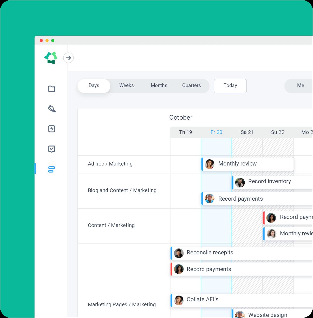 web-based roadmap