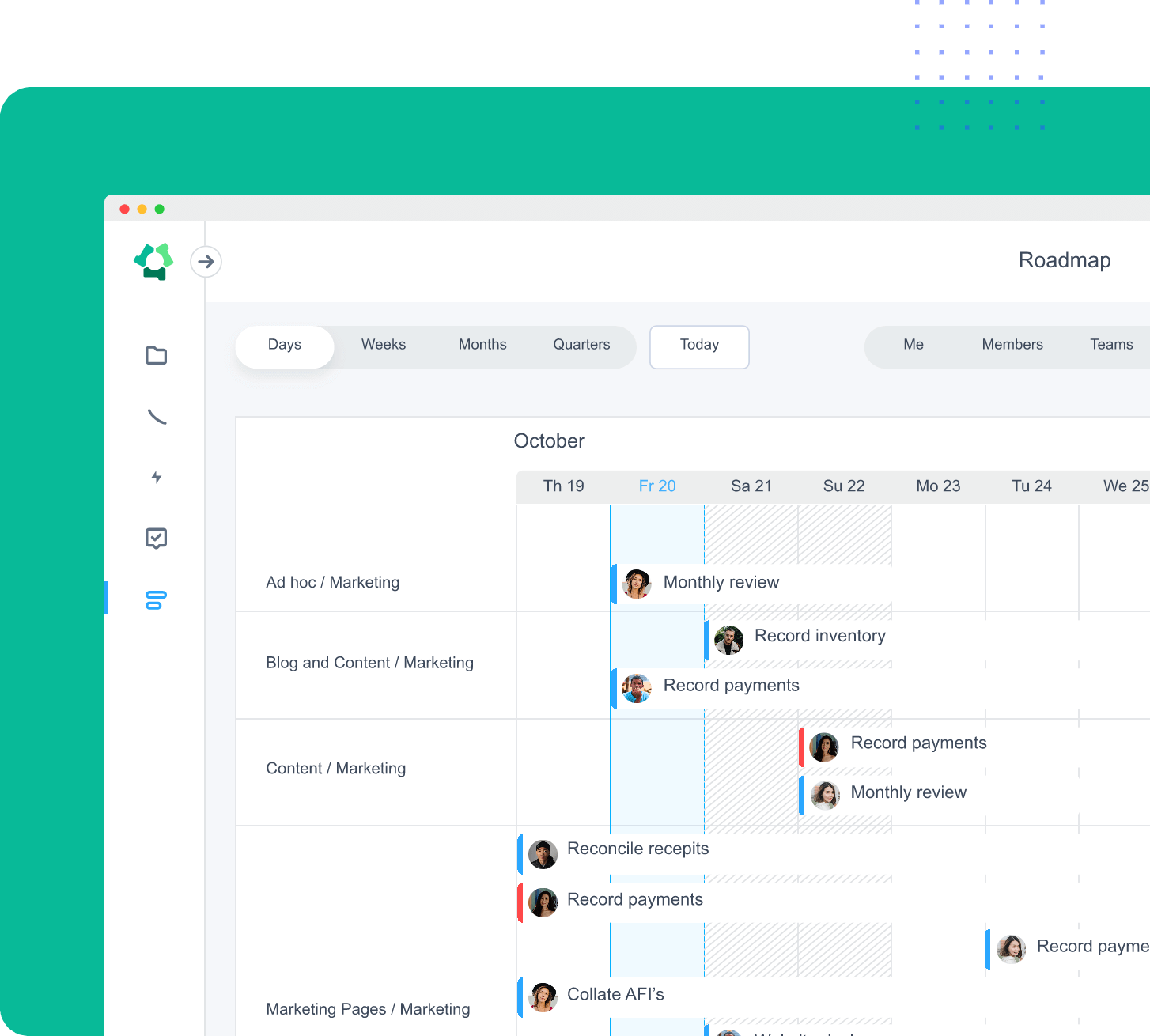 Hubstaff lets you access to your own data