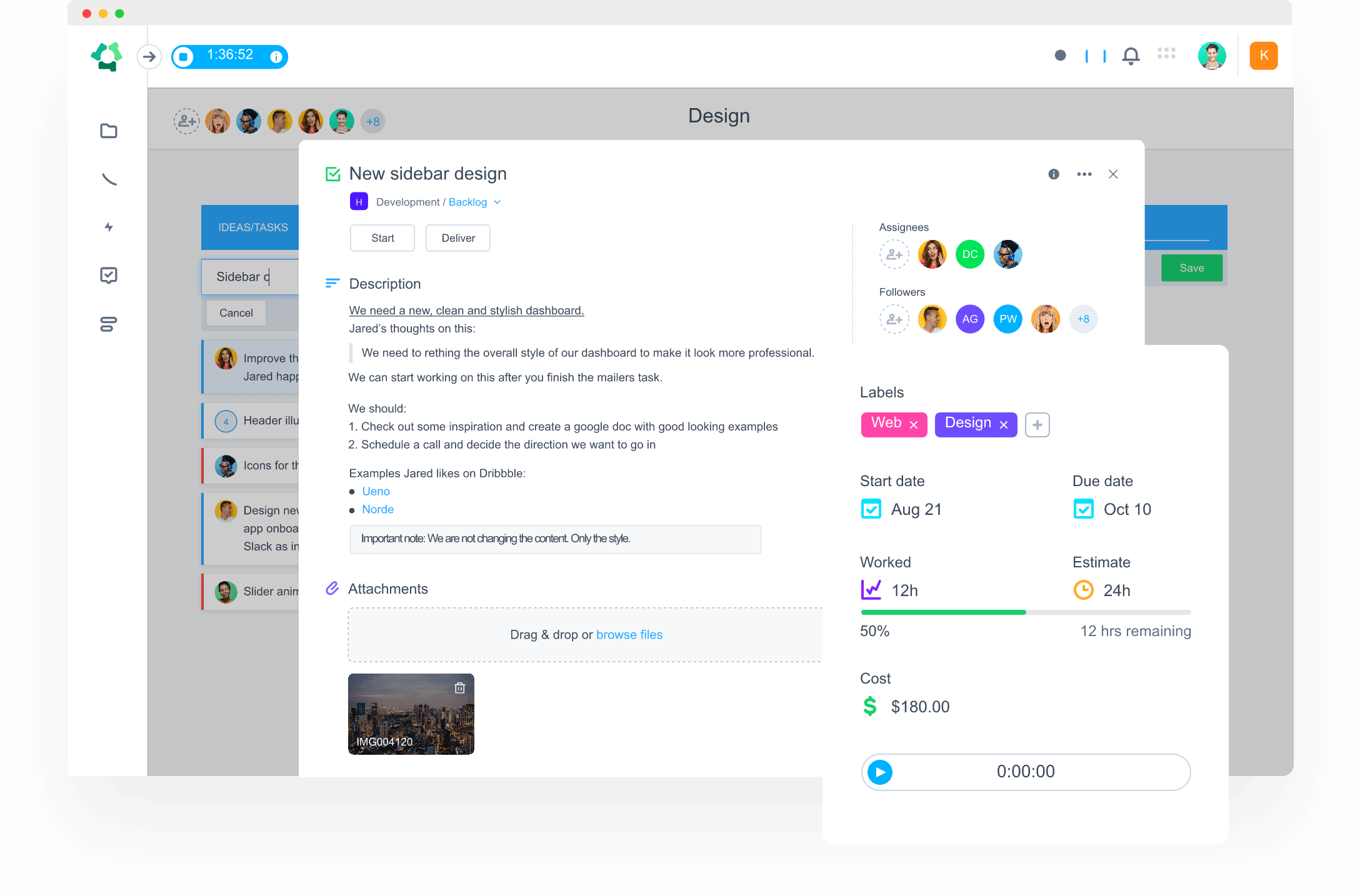 Simple timesheets that give you more control