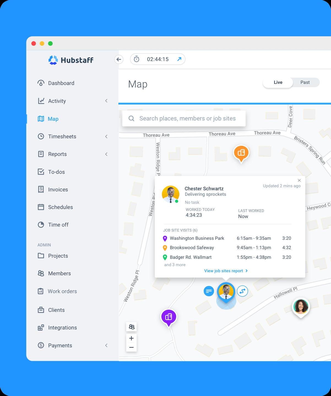 Hubstaff attendance tracking