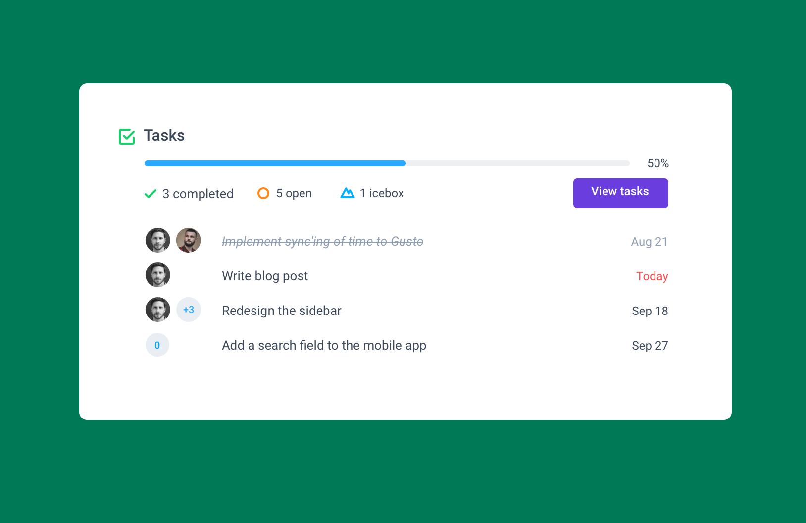 add checklists in hubstaff tasks