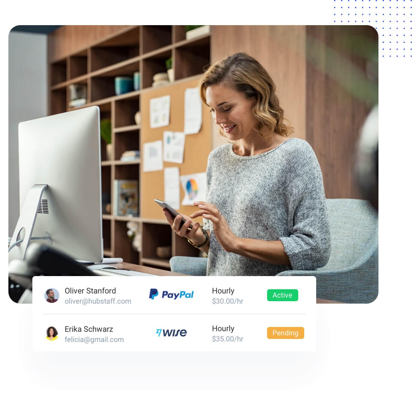Hubstaff features - workforce management