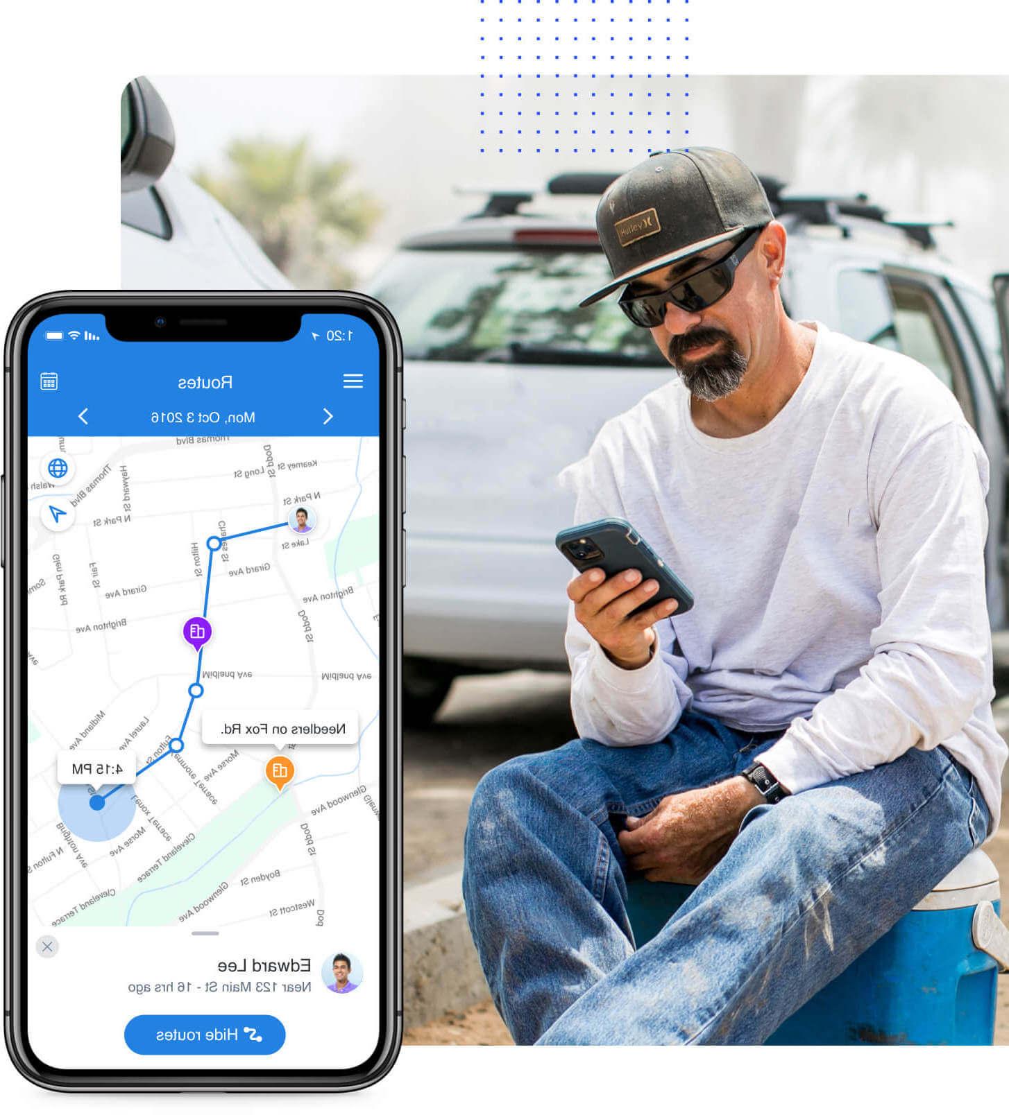 Hubstaff GPS tracking