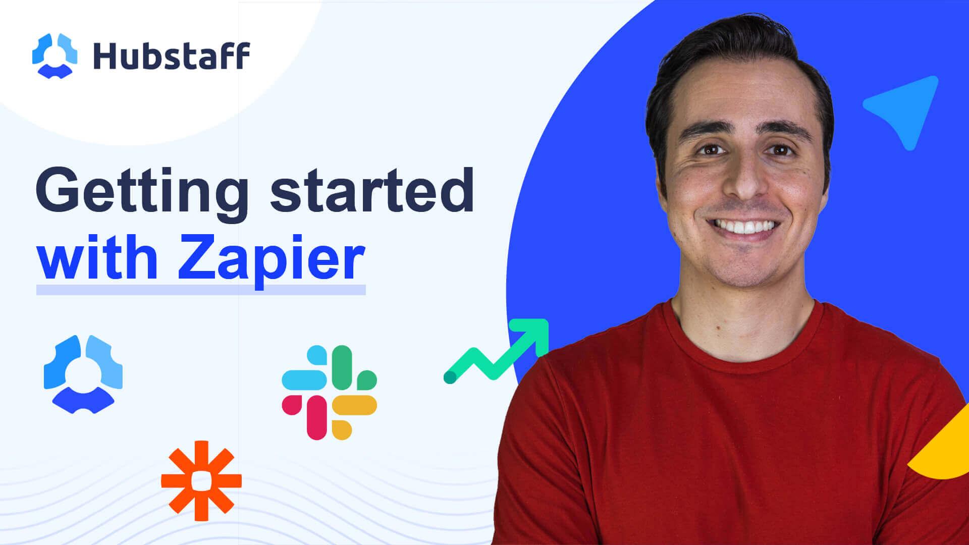 How Hubstaff integrates with Zapier