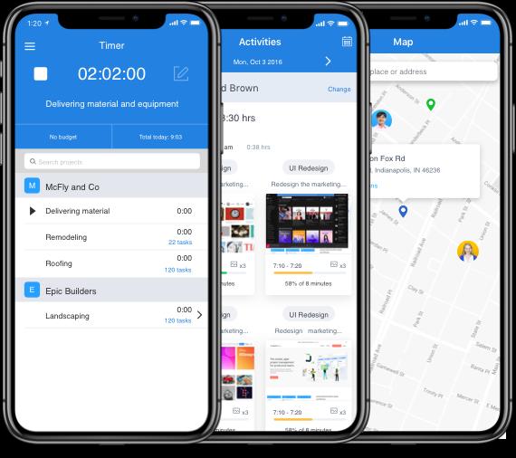 Hubstaff mobile time tracking app