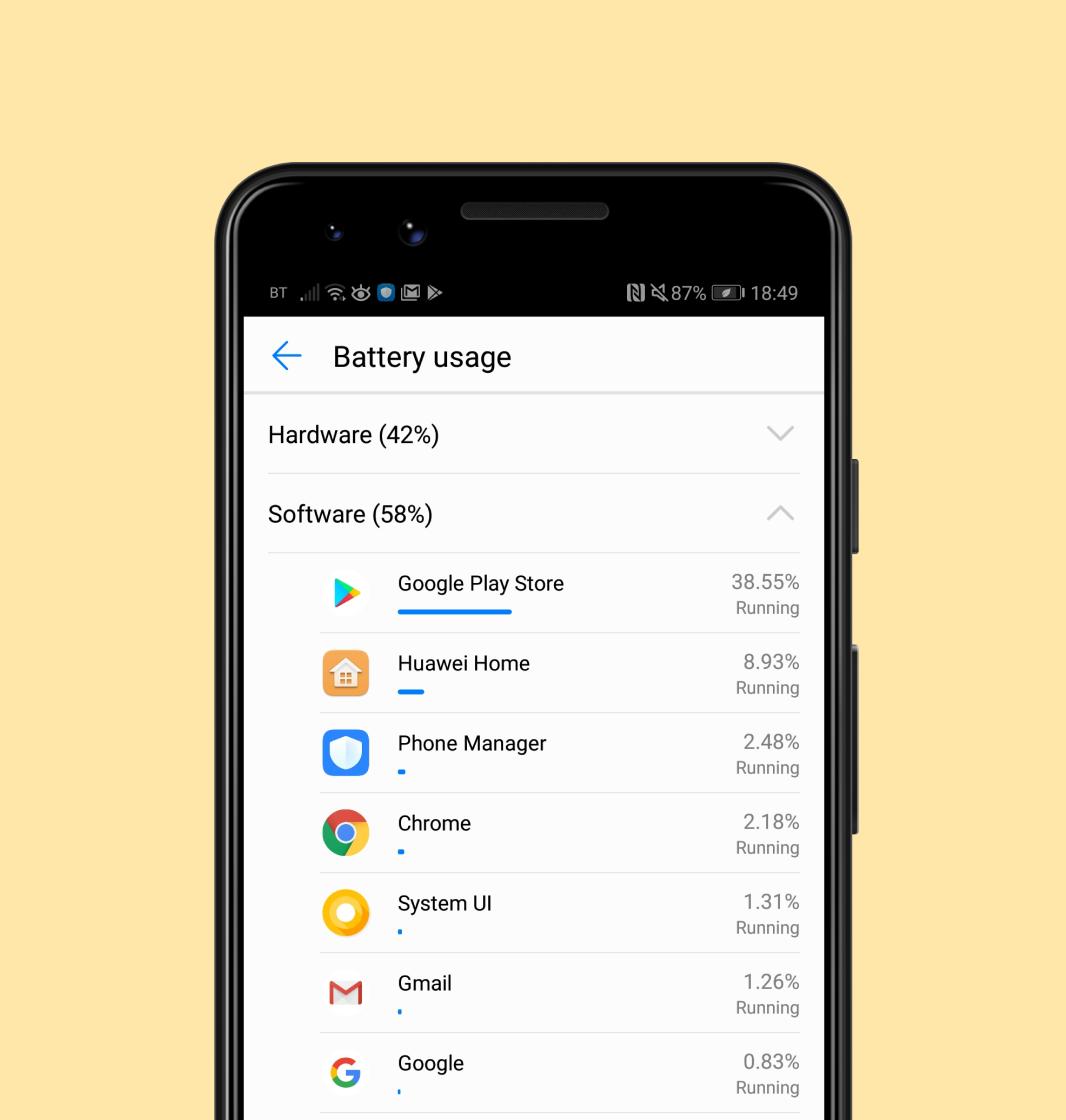 tips for saving battery life