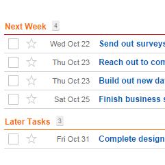 tasks time tracking