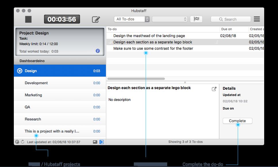 podio time tracker app